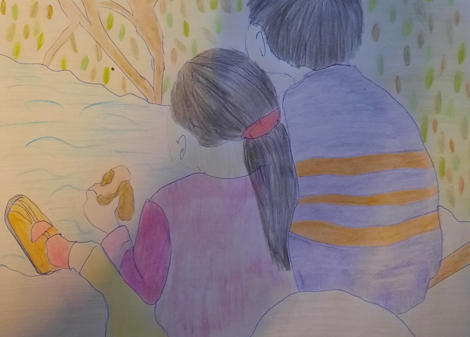 Verstandelijk beperkte jongen redt zijn zusje
